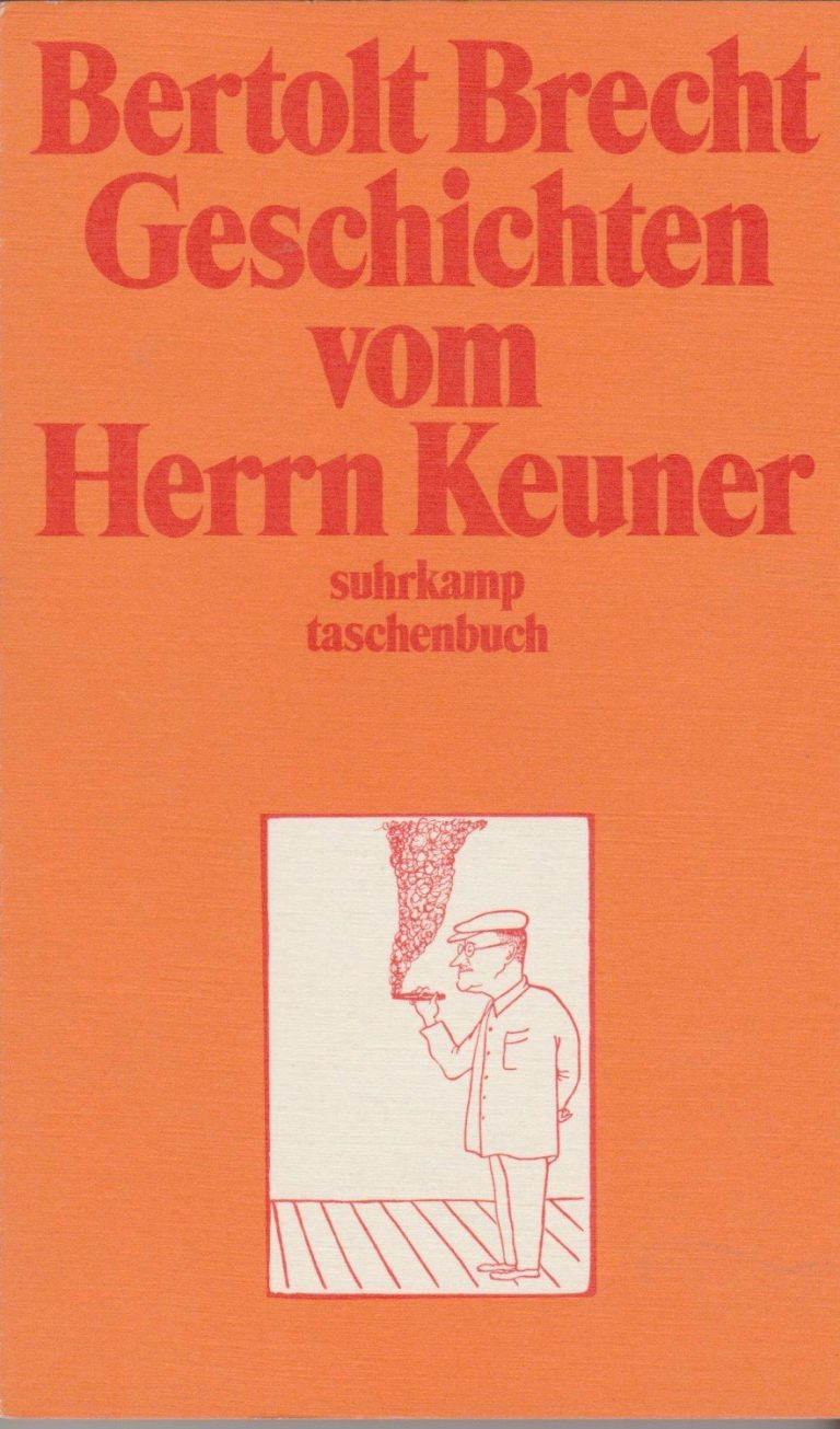 """Bertolt Brecht """"Geschichten vom Herrn Keuner"""""""
